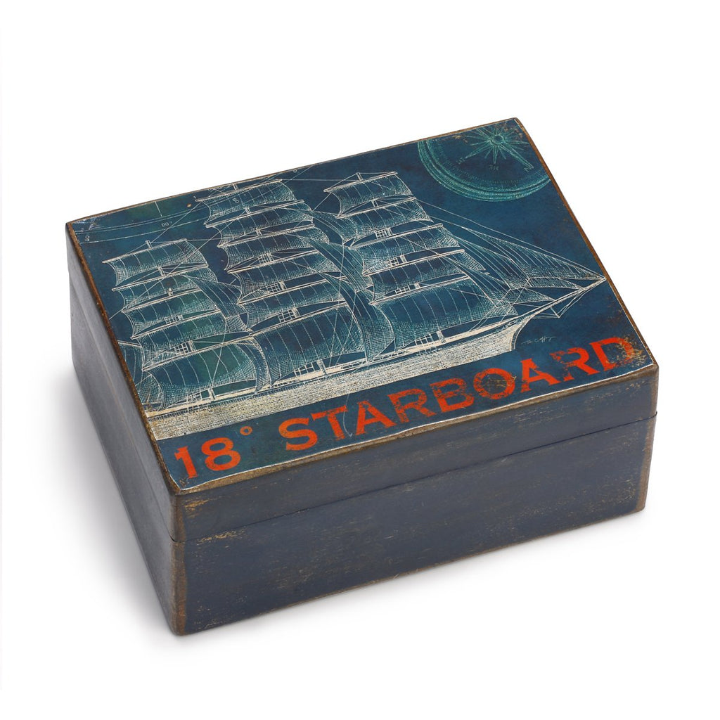 "#D1003720003 - 7""W X 5""D SHIP WOODEN BOX  -  16/CASE"