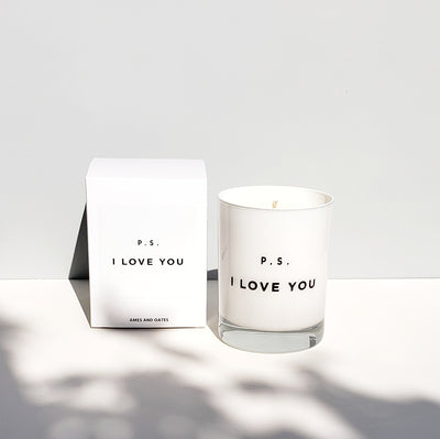 P.S. I Love You - Candle