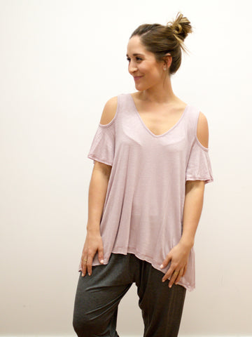 Natalie Cold Shoulder Top