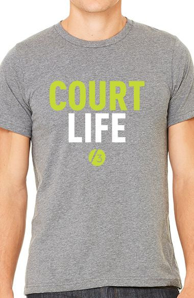Court Life™ Block - Men's Tee