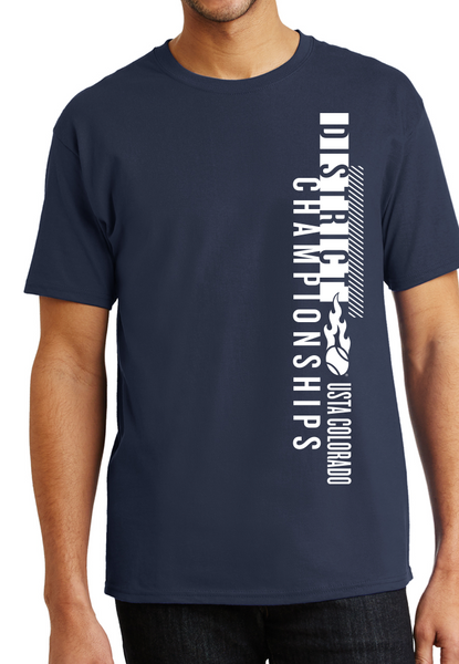 USTA CO District Championships - MEN'S SS Cotton Tee