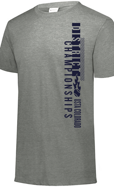 USTA CO District Championships - MEN'S SS Tri-Blend Tee