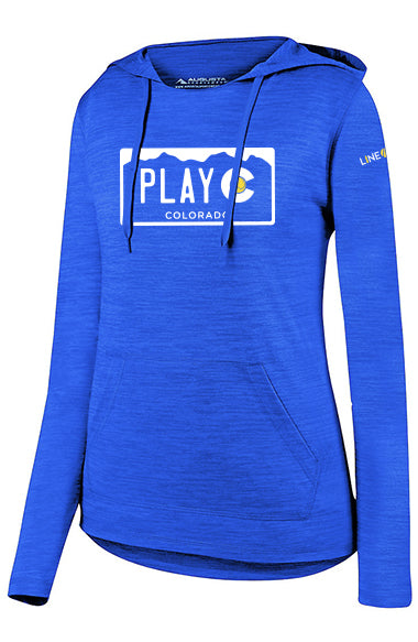 PLAY CO WOMEN'S HOODIE - USTA CO LOGO WEAR