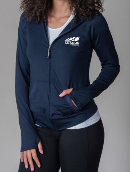 USTA CO District Championships - WOMEN'S HOODED JACKET