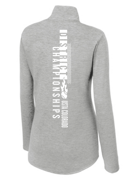 USTA CO District Championships - WOMEN'S TRI-BLEND 1/4 ZIP
