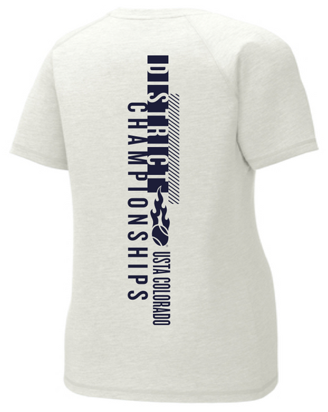 USTA CO District Championships - WOMEN'S SS TRI-BLEND TEE