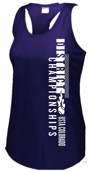USTA CO District Championships - WOMEN'S TRI-BLEND TANK