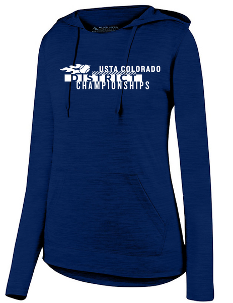 USTA CO District Championships - WOMEN'S LS HOODIE