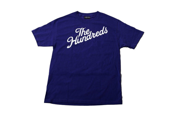 Original Classic The Hundreds Forever Bar Logo Mens Cotton Stretch T-Shirt size L