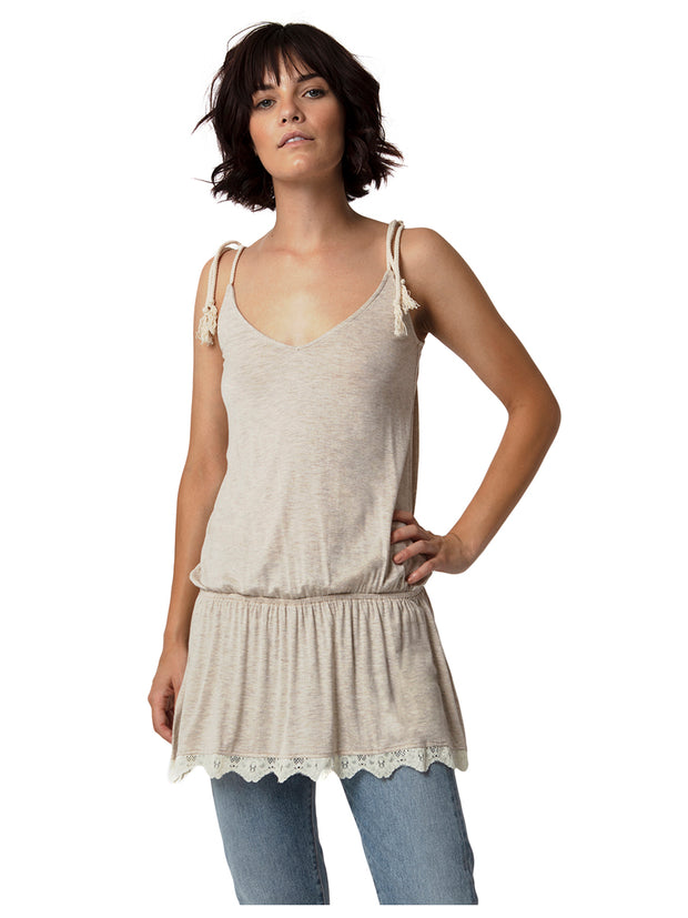 Feather Cinch Tunic