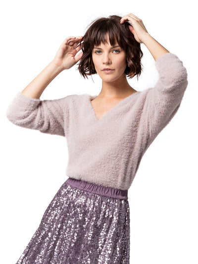 Lake Como Feather Sweater