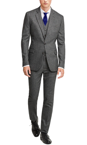 Flannel Gray Suit