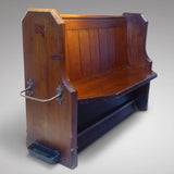 19th Century Church Pew - Hobson May Collection - 1