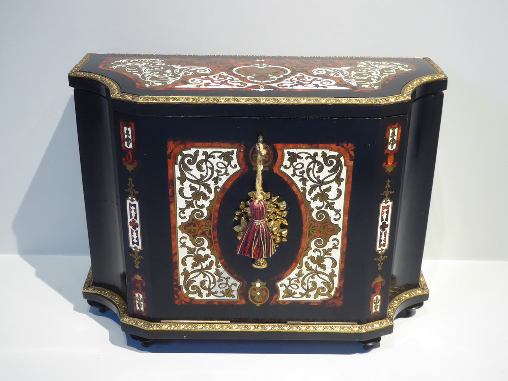 19th Century French Boule Writing Cabinet - Hobson May Collection - 1