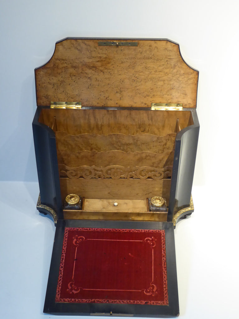 19th Century French Boule Writing Cabinet - Hobson May Collection - 4