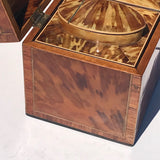 George III Tortoiseshell Tea Caddy - Side View - 6