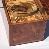 George III Tortoiseshell Tea Caddy - Side View - 7