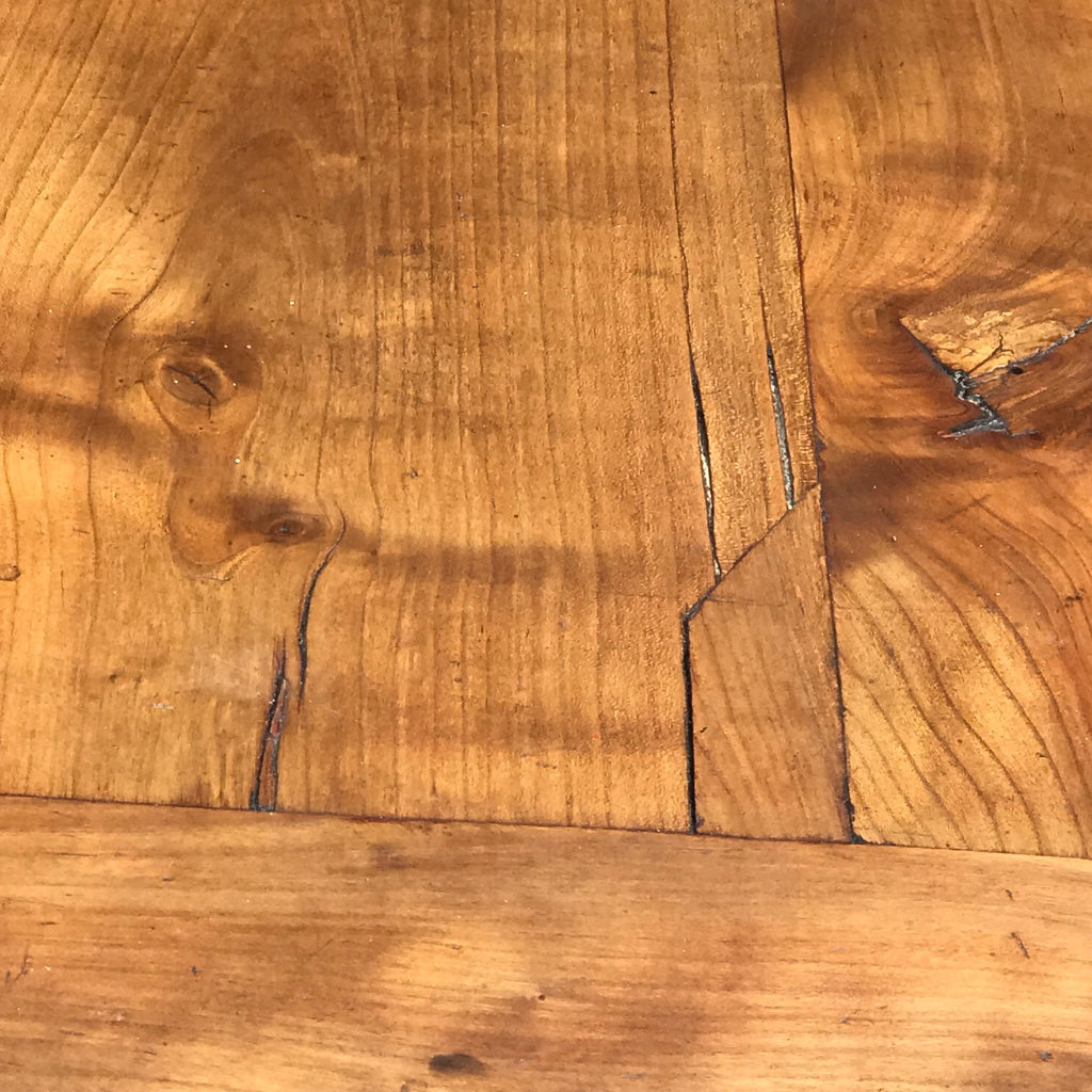 19th Century Fruitwood Extending Dining Table - Top Detail View - 9
