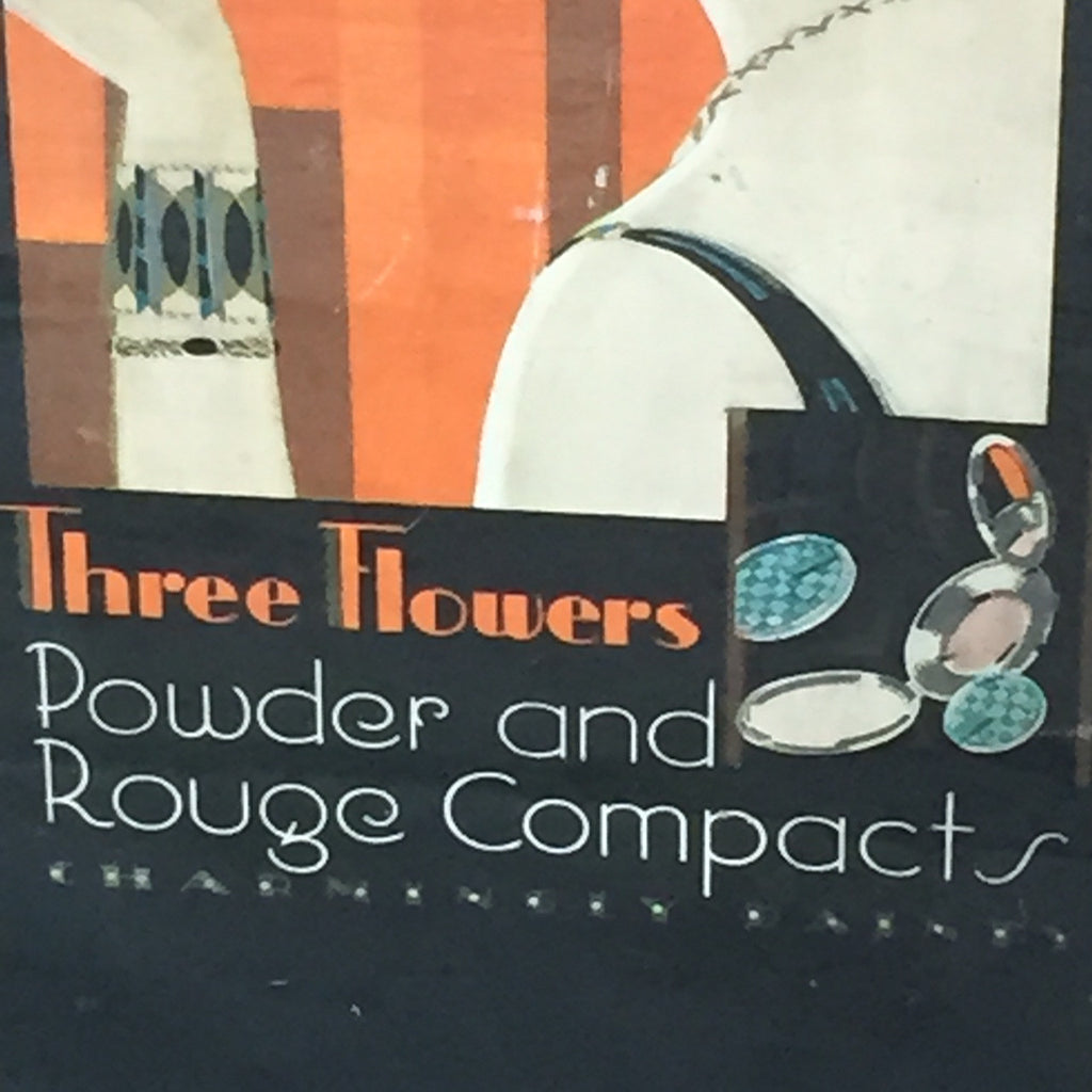 Art Deco Advertising Poster - Close up view - 3