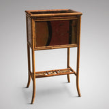 Victorian Lacquered Bamboo Sewing Table - Hobson May Collection - 5