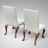 Pair of George II Style Side Chairs - Back View of Chairs-8