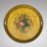19th Century Painted Toleware Tray - Main View - 1