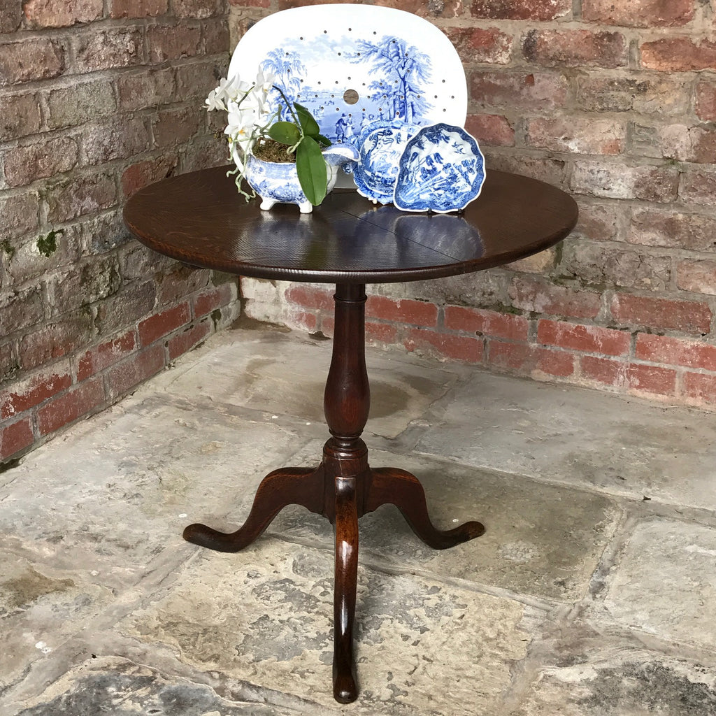 Georgian Tilt Top Pedestal Table