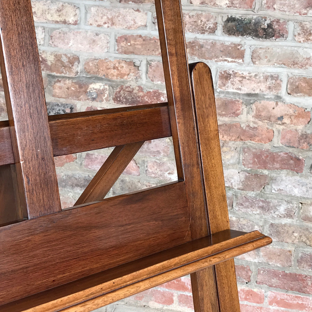 19th Century Mahogany Artists Easel by Vokins - Shelf Detail View -3