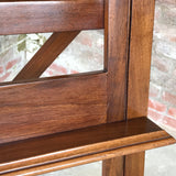 19th Century Mahogany Artists Easel by Vokins - Shelf Detail View - 6