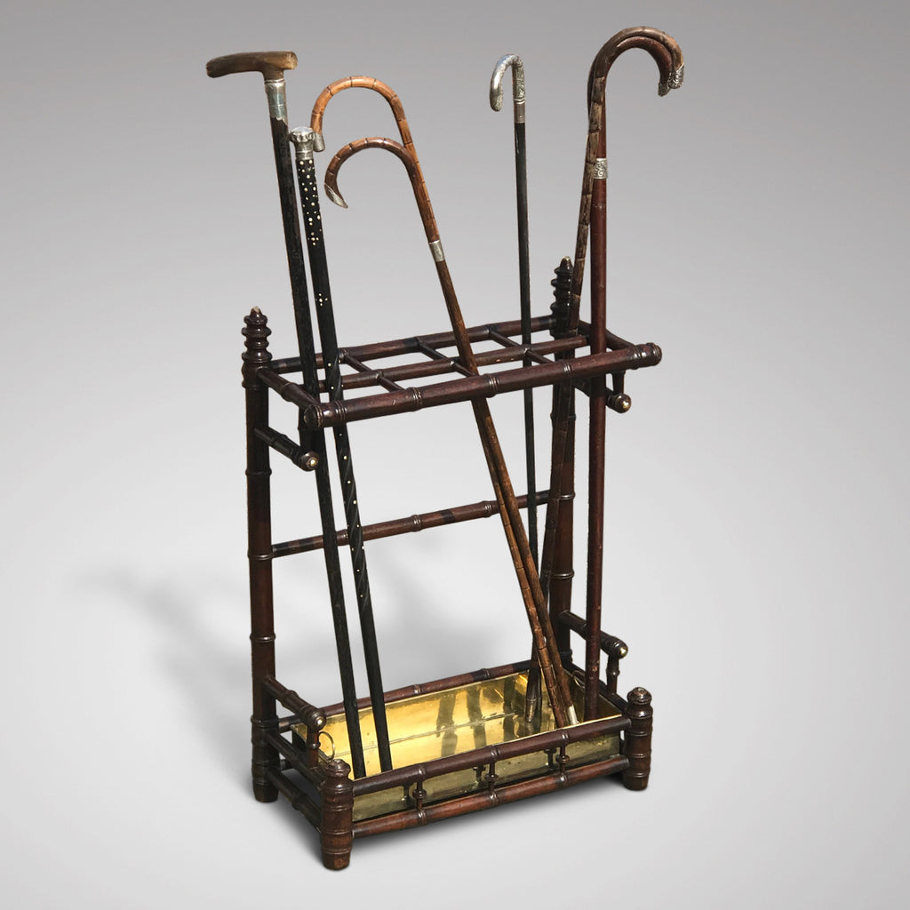 Edwardian Simulated Bamboo Stick Stand - Main View - 1
