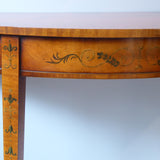 Pair of Edwardian Demi Lune Tables - Hobson May Collection - 6