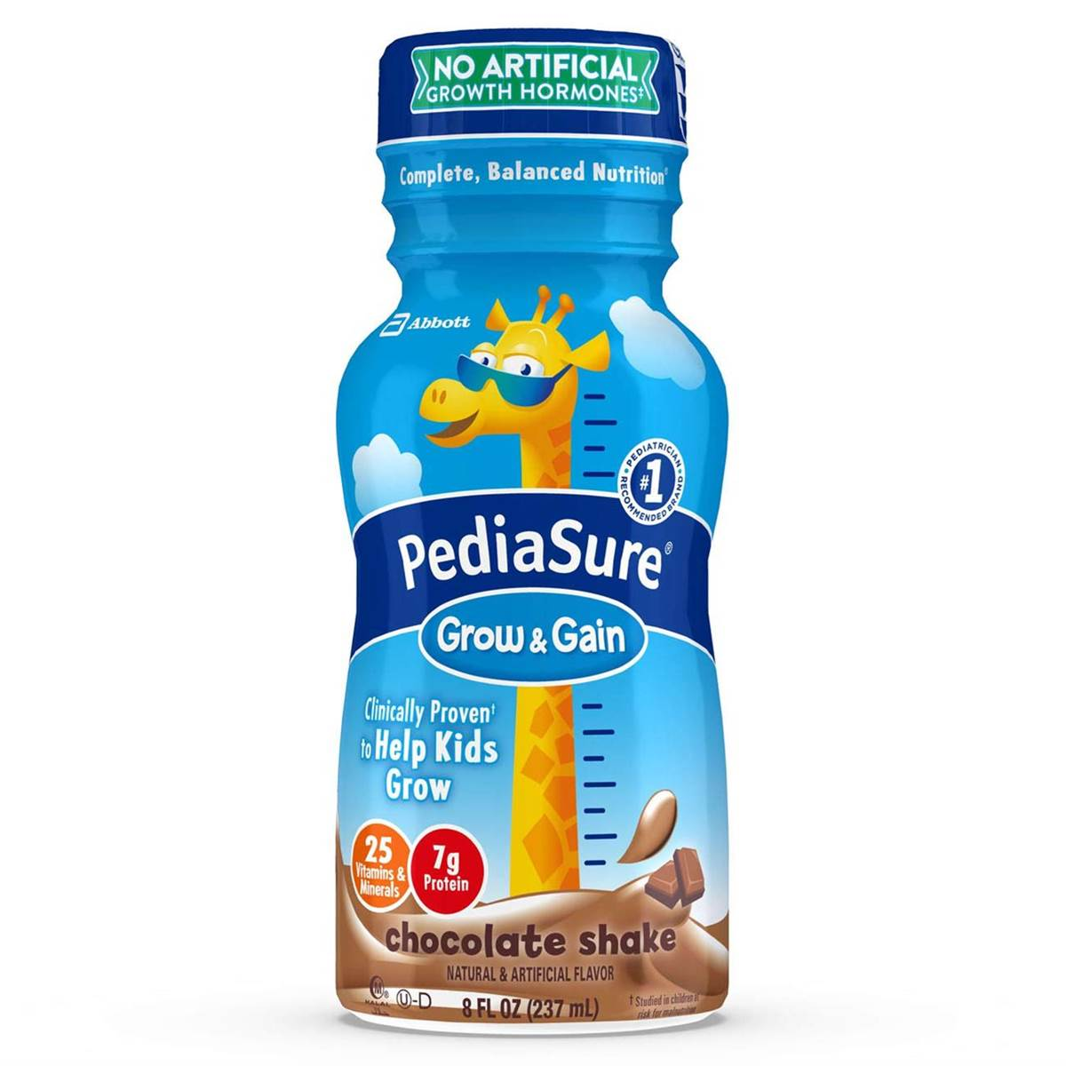 Pediasure Grow & Gain 237ml (8oz) - Chocolate Shake