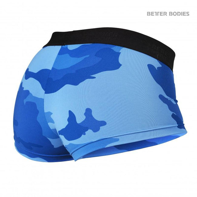 Better Bodies Fitness Hotpants Blue Camo back