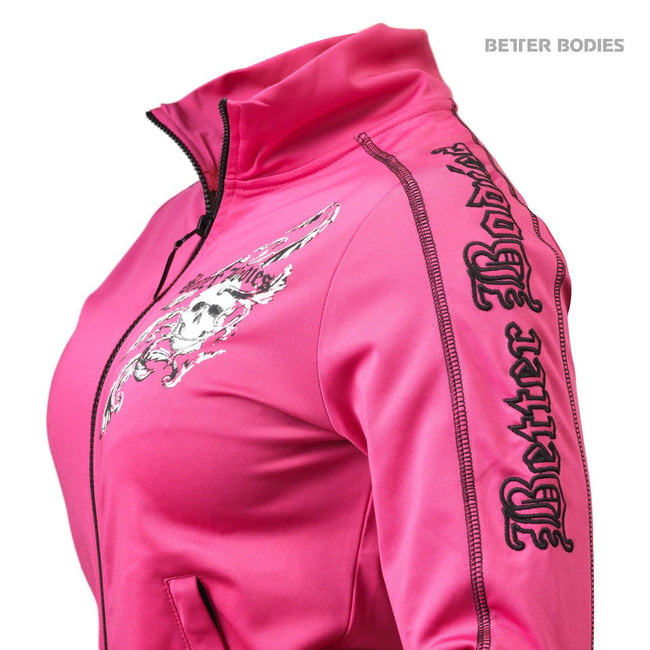 Better Bodies Women's Flex Jacket Hot Pink Detail