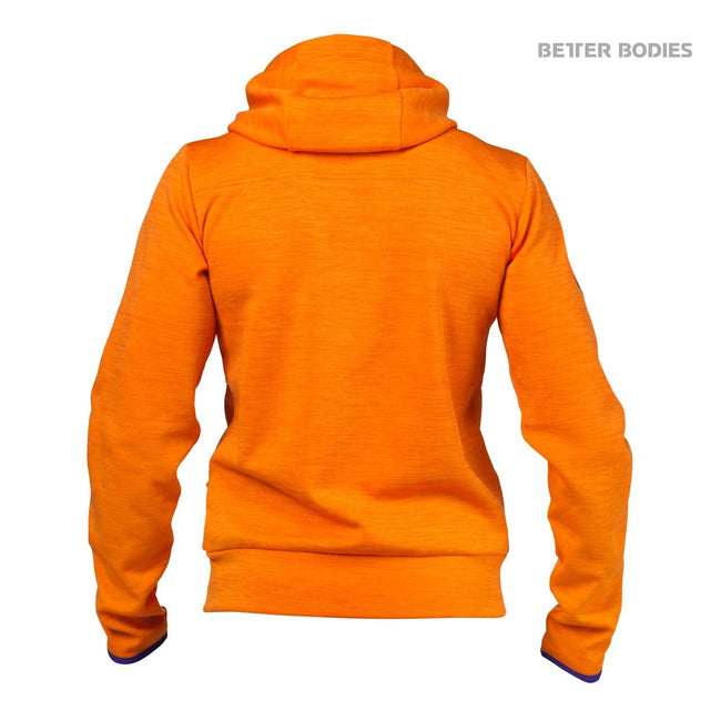 Better Bodies Women's Athletic Hood Orange Back