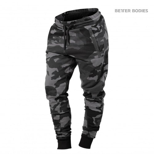 Better Bodies Womens Jogger Sweat Pants Dark Camo