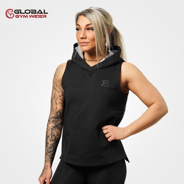 Better Bodies Kensington Sleeveless Hood Black
