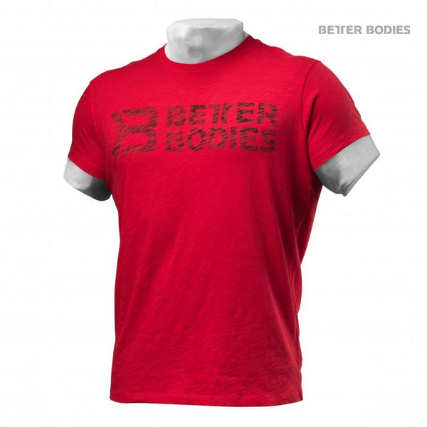Better Bodies Symbol Printed Tee Bright Red