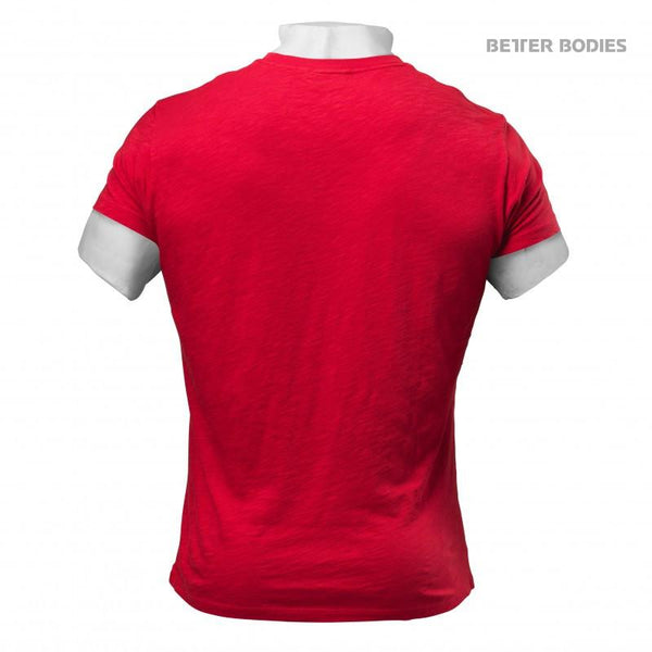 Better Bodies Symbol Printed Tee Bright Red back
