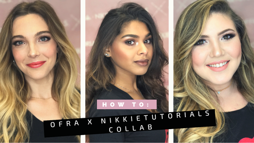 How To: The OFRA X NikkieTutorials Collection