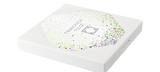 Default Title - mobile Closed Infinite Palette in white packaging with green confetti design