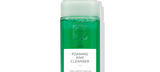 Default Title - mobile Foaming Kiwi Cleanser in clear bottle with pump
