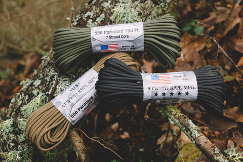 ATWood Rope MFG Paracord, USA Made