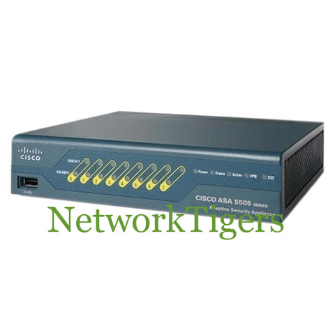 Cisco ASA5505-SEC-BUN-K9 ASA 5505 UNLIMITED Nodes Firewall w/Sec Plus