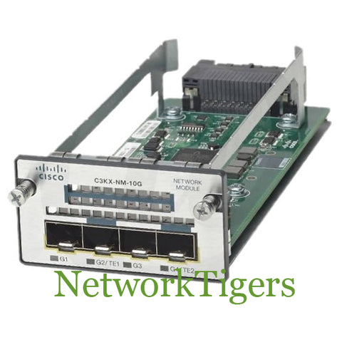 Cisco C3KX-NM-10G Catalyst 3560X Series 2x 10G SFP+ 2x 1G SFP Switch Module
