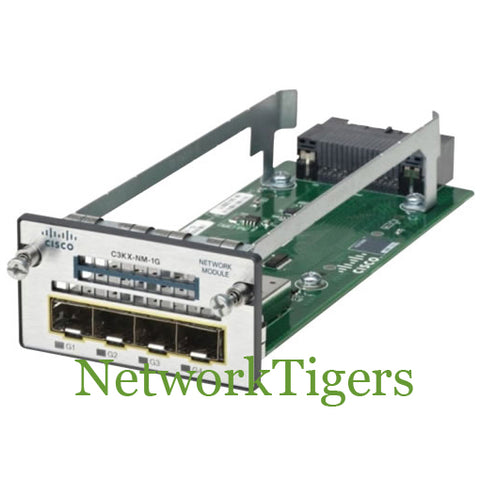 Cisco C3KX-NM-1G C3750X Series 4x Gigabit Ethernet SFP Switch Module