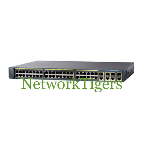 Cisco WS-C2960G-48TC-L 44x Gigabit Ethernet 4x 1G SFP LAN Base Switch