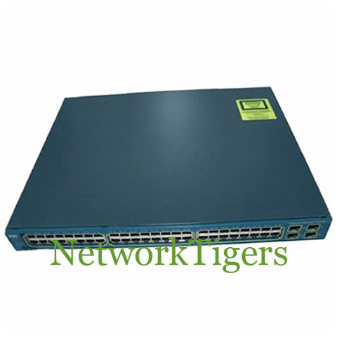 Cisco WS-C3560G-48PS-S 48x Gigabit Ethernet PoE 4x 1G SFP IP Base Switch