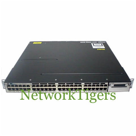 Cisco WS-C3750X-48PF-S C3750X Series 48x Gigabit Ethernet PoE+ IP Base Switch