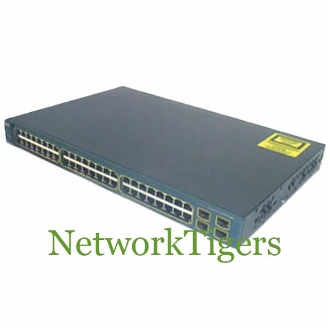 Cisco WS-C3560G-48PS-E 48x Gigabit Ethernet PoE 4x 1G SFP IP Services Switch